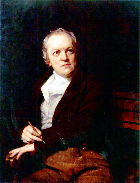 William Blake, in an 1807 portrait by Thomas Phillips
