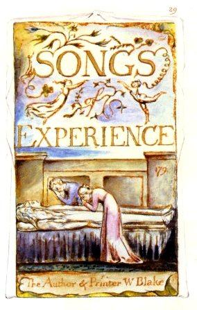 William Blake's Title Plate for *Songs of Experience*