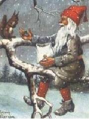 Jenny Nystrom's tree gnome