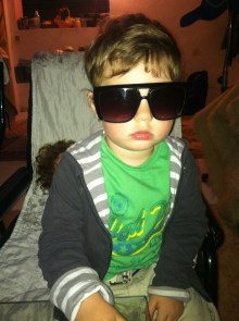 You wish you were as cool as my host nephew.