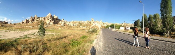 Taking a stroll in Goreme.