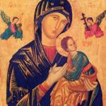 Our Lady of Perpetual Help – By unknown Byzantine painter from the 13th or 14th century,file made by Pablete – Redentoristas, Public Domain, https://commons.wikimedia.org/w/index.php?curid=3414340