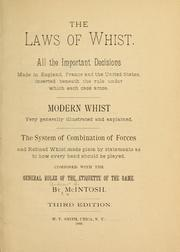 Laws of Whist - the devil often features in tales of this game being played