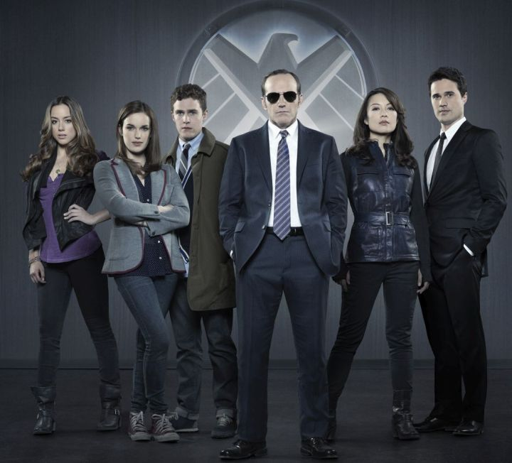 "MARVEL'S AGENTS OF S.H.I.E.L.D. - ""Marvel's Agents of S.H.I.E.L.D.,"" Marvel's first television series, is from executive producers Joss Whedon (""Marvel's The Avengers,"" ""Buffy the Vampire Slayer""), Jed Whedon & Maurissa Tancharoen, who co-wrote the pilot (""Dollhouse,"" ""Dr.Horrible's Sing-Along Blog""). Jeffrey Bell (""Angel,"" ""Alias"") and Jeph Loeb (""Smallville,"" ""Lost,"" ""Heroes"") also serve as executive producers. ""Marvel's Agents of S.H.I.E.L.D."" is produced by ABC Studios and Marvel Television. (ABC/Bob D'Amico) CHLOE BENNET, ELIZABETH HENSTRIDGE, IAIN DE CAESTECKER, CLARK GREGG, MING-NA WEN, BRETT DALTON"