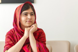 Malala rprior to meeting the DSG SG Meets Photo Opportunity: The Secretary-General and Ms. Malala Yousafzai Special Event: Interactive conversation to mark 500 Days of Action for the Millennium Development Goals (MDGs) Participants: The Secretary-General; The President of the General Assembly 68th session; Malala Yousafzai, Education Advocate and Co-founder of the Malala Fund; Amy Robach, News Anchor with ABC's Good Morning America.