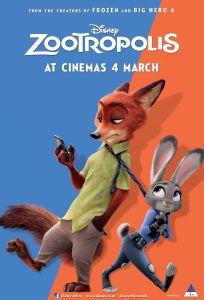 Zootropolis - Poster - 4 Mar (SA)