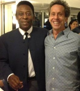 Brian Grazer and Pele