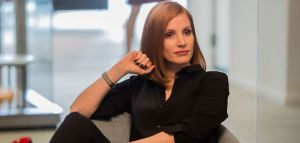 """M79 Jessica Chastain stars in EuropaCorp's """"Miss. Sloane"""". Photo Credit: Kerry Hayes © 2016 EuropaCorp Ð France 2 Cinema"""