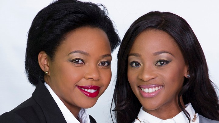 Salamina Mosese and Stephina Zwane