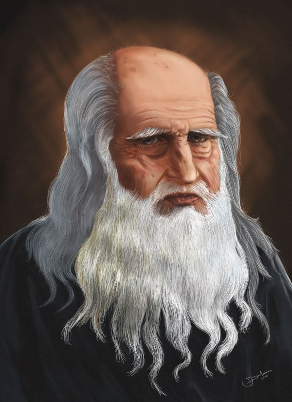 Leonardo Da Vinci- Anab Noor Writingunited