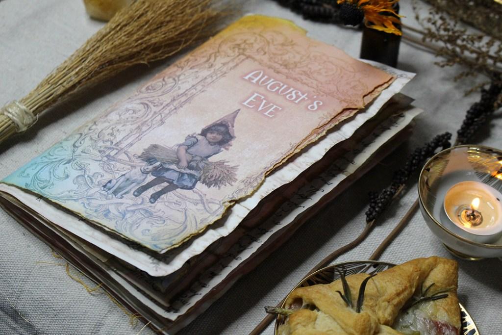 printable lughnasadh junk journal kit