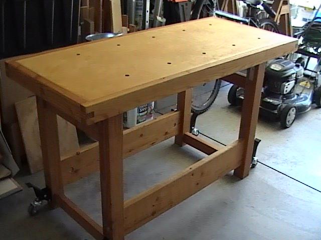Birch Workbench Top