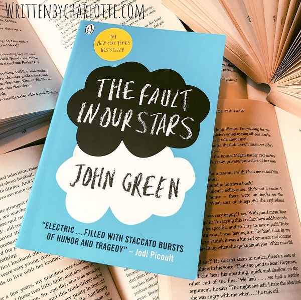 books that made me a reader, fave reads, the fault in our stars, john green, written by charlotte, book bloggers