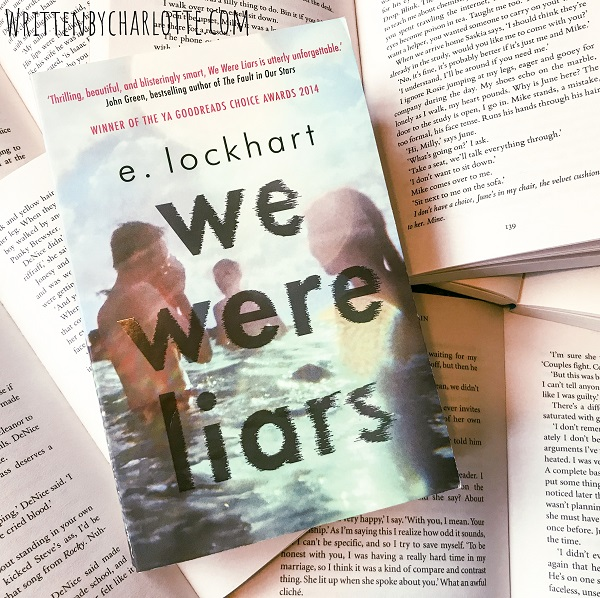books that made me a reader, written by charlotte, book bloggers, fave reads, we were liars, e.lockhart