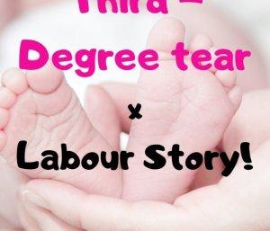 third degree tear