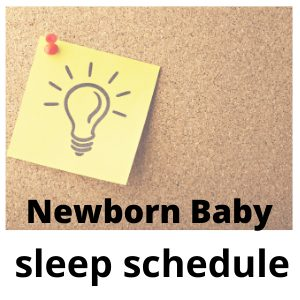 newborn baby sleep schedule