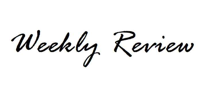 weekly review fashionblog