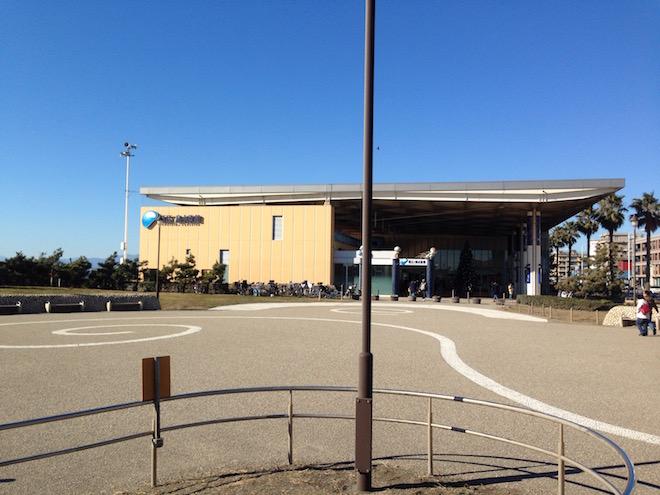 新江ノ島水族館外観
