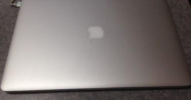 愛機MacBookPro15retina
