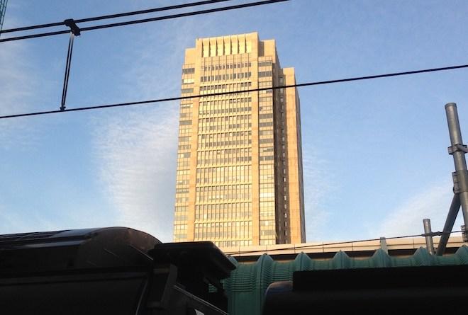 東京校サテライトキャンパスのある丸の内ビルディング
