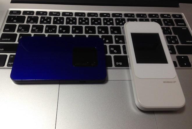 WiMax2+端末