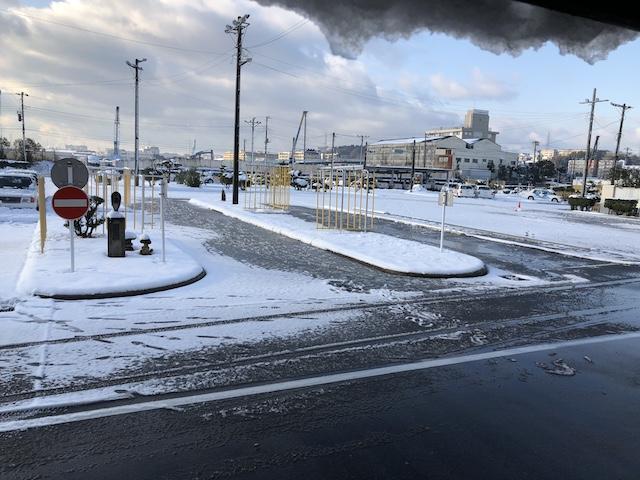 雪の教習所
