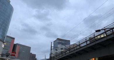 有楽町からの曇り空