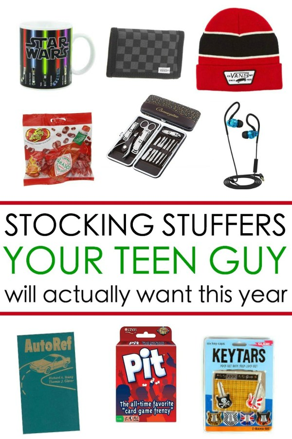 65 Awesome Stocking Stuffers for a Teen Guy Teen Boy Gift