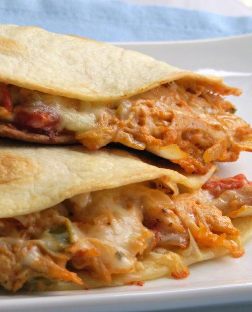 Cheesy Chicken Quesadillas Recipe