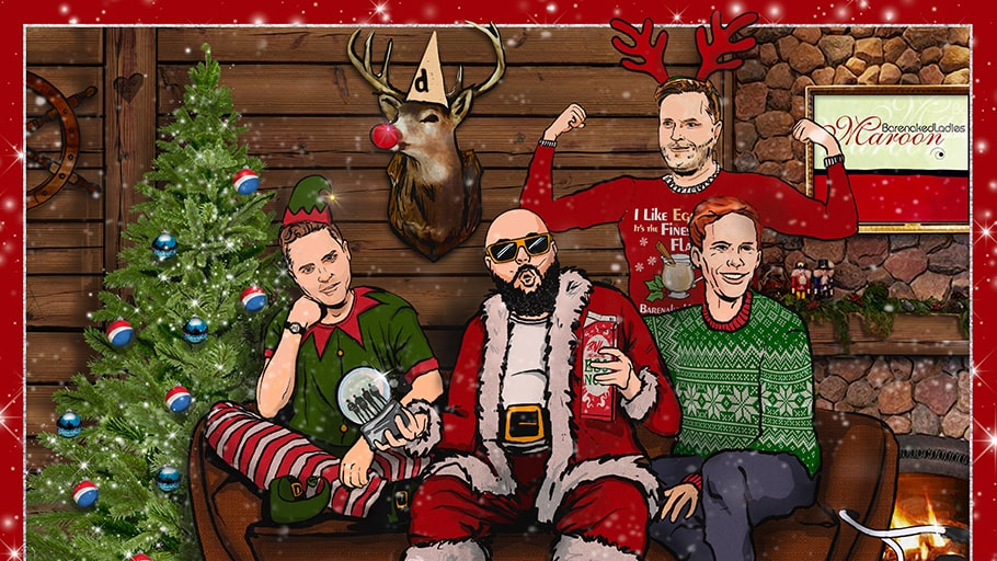 Barenaked Ladies Christmas event poster