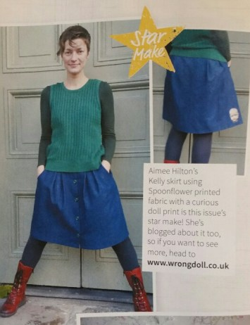 Love Sewing Magazine Star Make