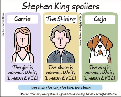 Stephen King Spoilers Wrong Hands