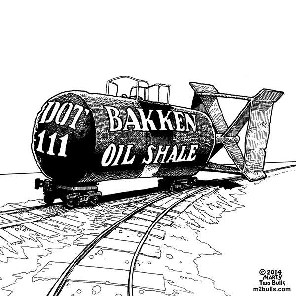 Bakken Oil Shale Bomb