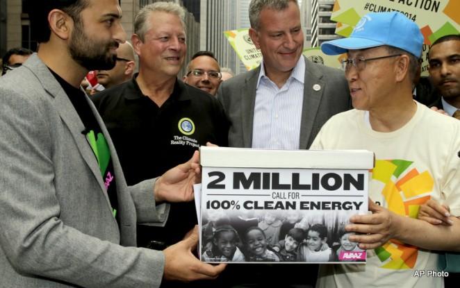 Ricken Patel, Al Gore, Ban ki-Moon