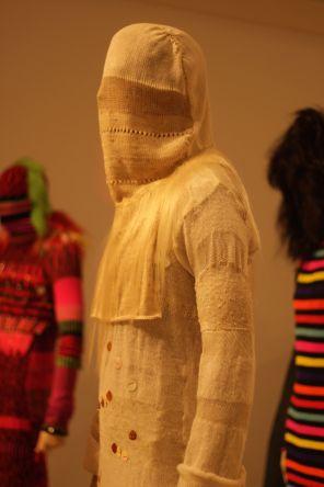 rhode island providence rhode island RISD museum knitted dress 2