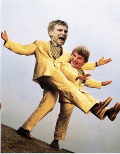 You don't even know how badly I wanted there to be a Twins-esque movie starring Mertesacker and Arshavin.