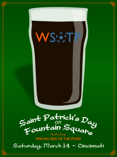 The city of CIncinnati invited the Podcast team back down to Fountain Square to host the city's St. Patrick's Day Party.