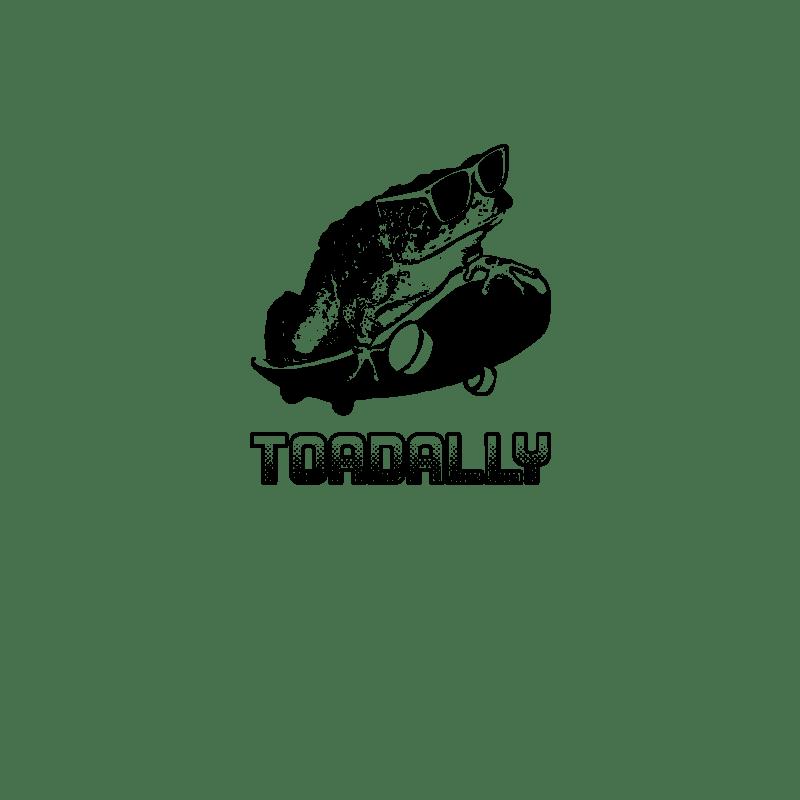 Toadally t-shirt by WrongTees