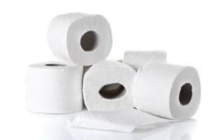 Photo of several rolls of toilet paper.