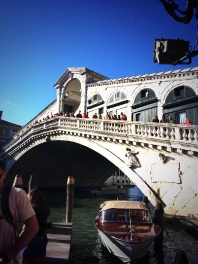 Rialto Bridge, Venezia.