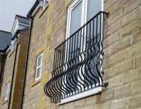 Balcony Railings - Wrought Iron Works
