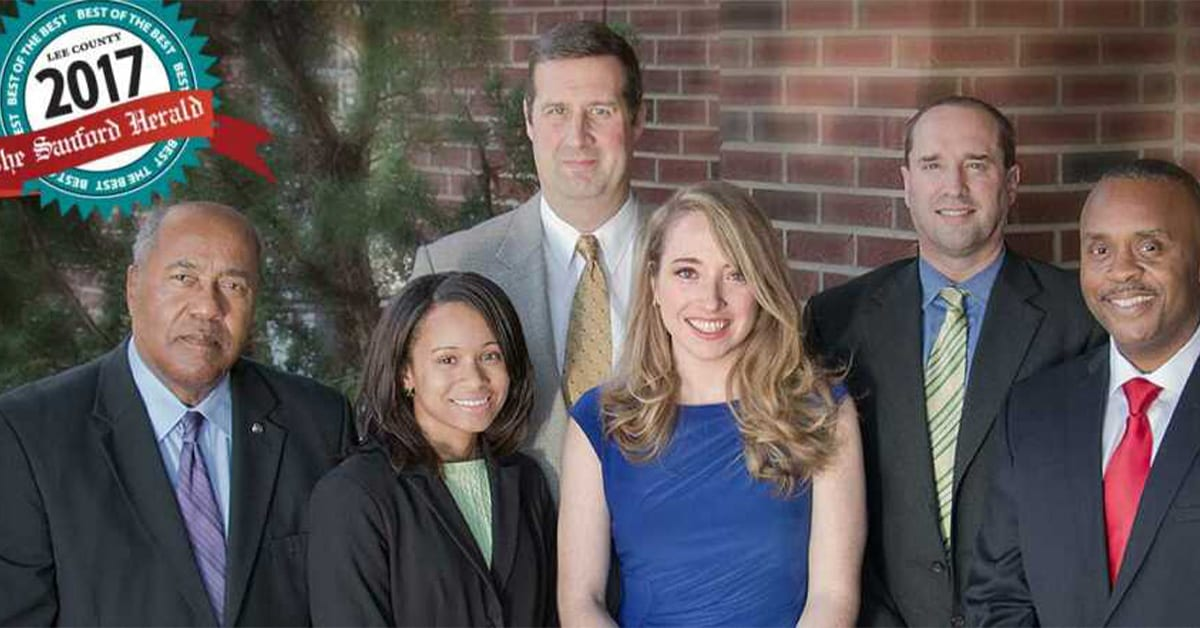 Wilson, Reives, And Silverman Law Firm Was Voted Best In Lee County For The 6th Year.