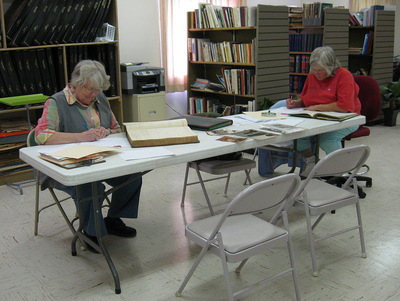 Volunteers Indexing