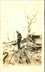 Aftermath of the Melva Tornado