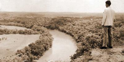 View from above the White River