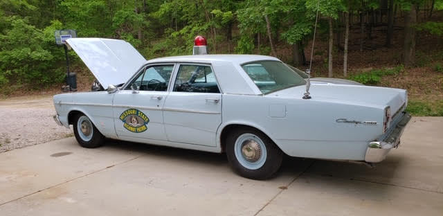 Vintage MO State Highway Patrol Car