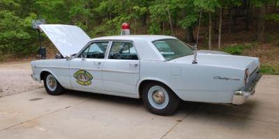 Vintage MO State Highway Patrol Car