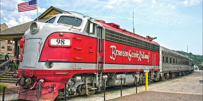 Branson Scenic Railway EMD F9PH engine