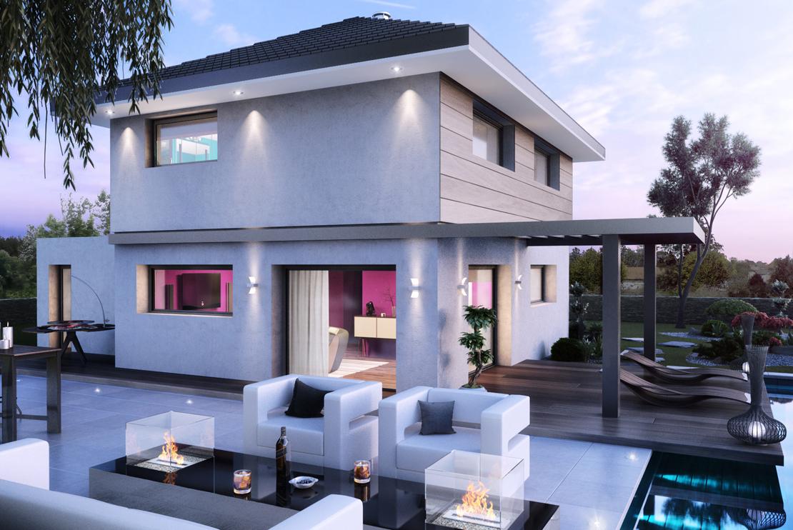 Maison  Maison Bois  3 Chambres plus suite parentale  Maisons Stphane Berger  220000 euros