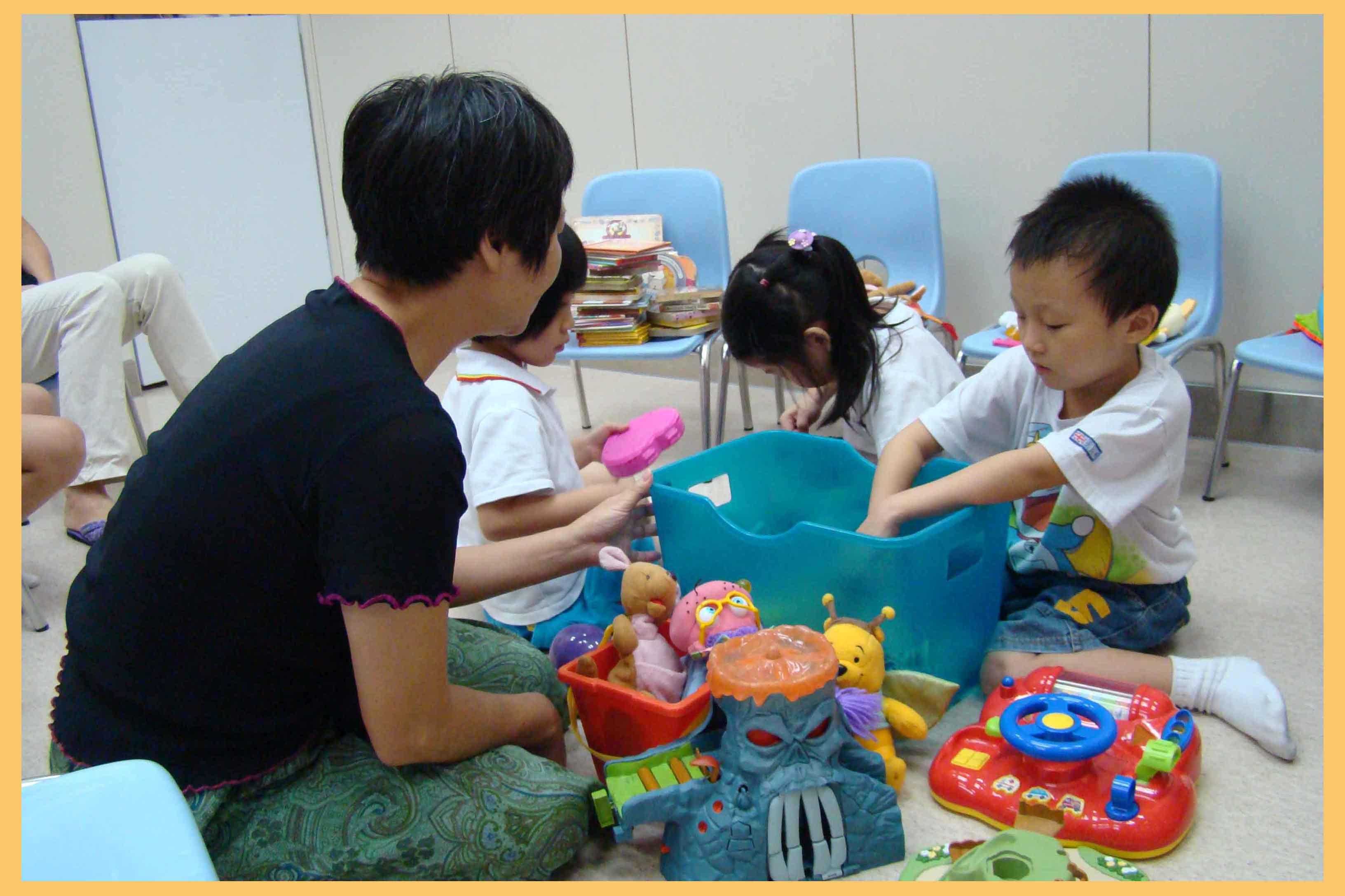社區服務.幼兒照顧計劃